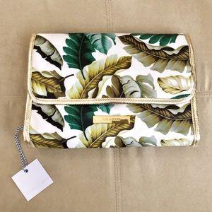 Tartan + Twine hanging travel cosmetic/makeup bag